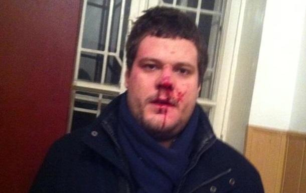 В Сети появились фото избитого депутата от Свободы Андрея Ильенко
