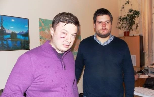 Милиция классифицировала нападение на нардепа Ильенко и адвоката Кизина как хулиганство