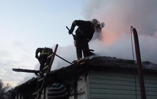 Двое детей погибли при пожаре в Ровенской области
