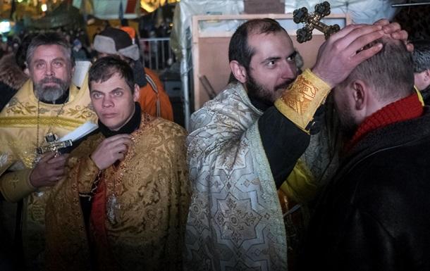Сочельник на баррикадах. Как Евромайдан готовился к Рождеству
