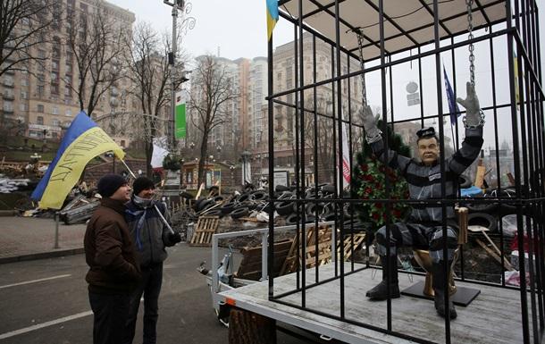 Росбалт: На Майдане верят в силу санкций