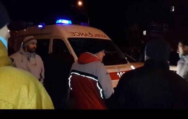 11 человек были доставлены в больницы после столкновений под Святошинским РУВД - секретариат омбудсмена