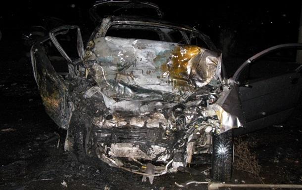 В дорожно-транспортном происшествии в Луганске погибли три человека