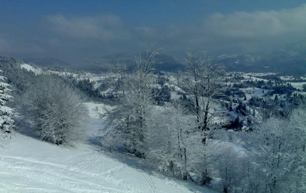 В Закарпатской и Ивано-Франковской областях возможны сходы лавин