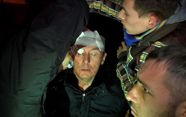 Киевская мэрия подтвердила, что Луценко был нетрезв после драки с Беркутом