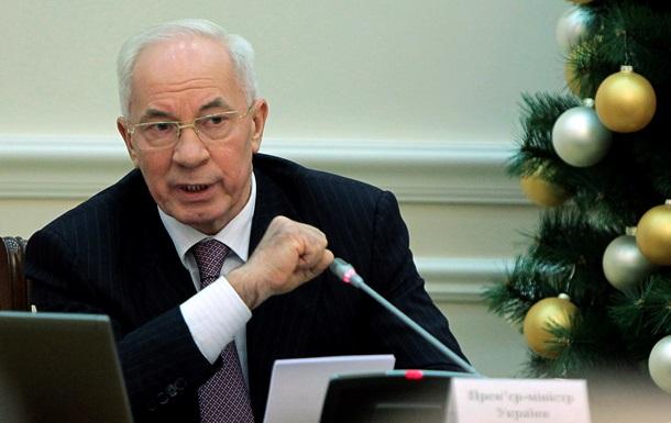 Общественного конфликта в Украине нет, есть искусственное противостояние – Азаров