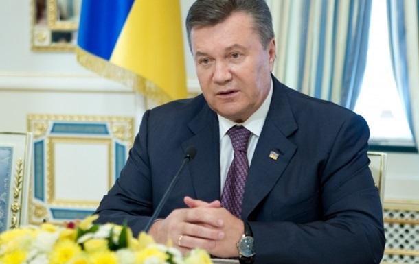 Янукович поручил улучшить инвестиционный климат в Украине