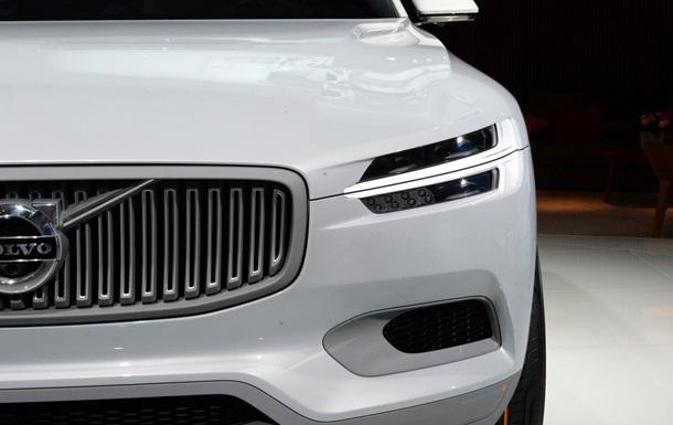 Скандинавская новинка. Внедорожное купе Volvo показали миру в Детройте