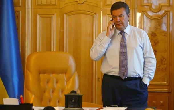 Янукович поручил правительству сбалансировать платежный баланс