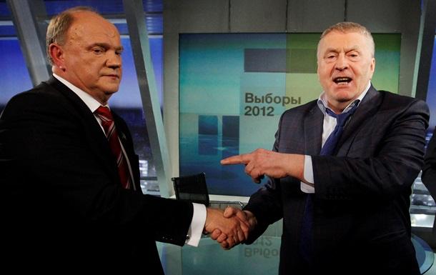 Жириновский хочет возглавить комиссию по празднованию юбилея Зюганова