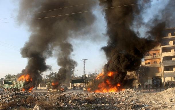 В сирийском Алеппо в результате воздушной атаки погибли несколько десятков человек