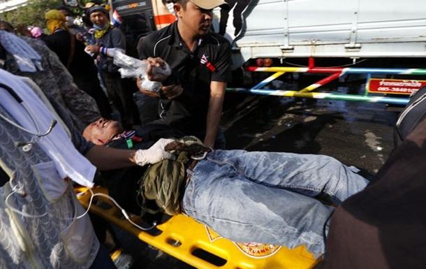 В месте проведения антиправительственной акции в Бангкоке прогремел взрыв