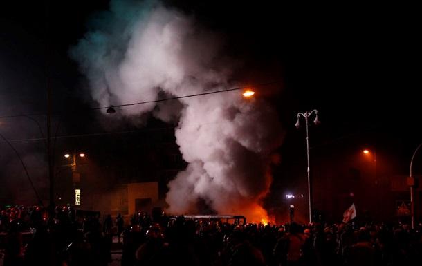 МВД: 30 военнослужащих внутренних войск пострадали в результате столкновений в Киеве