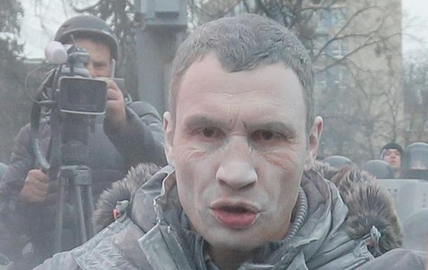 Кличко на Грушевского - фото - Евромайдан - Киев