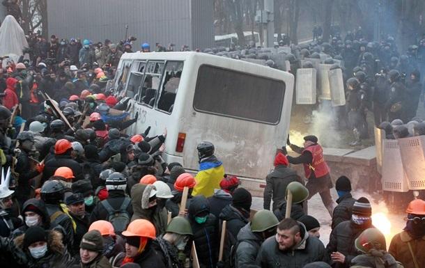 В милицию доставили 50 наиболее активных участников беспорядков - МВД