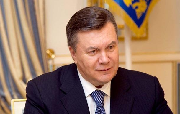 Янукович уверен, что еще не поздно остановиться и урегулировать конфликт мирным путем