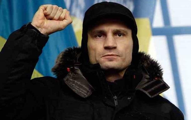 Кличко пообещал  собрать силы и сражаться , если президент не пойдет на уступки