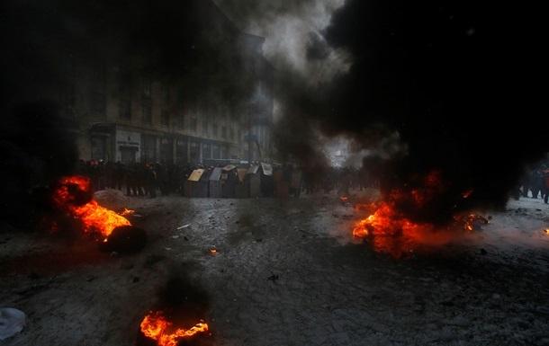 Неизвестные в масках захватили здание телерадиокомпании Киев на Крещатике