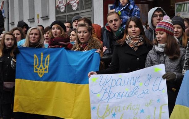 Польский евромайдан силой 18-летнего украинца