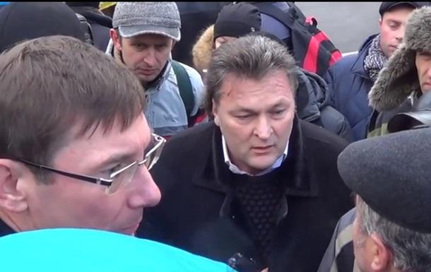 Беседа Балашова с Луценко