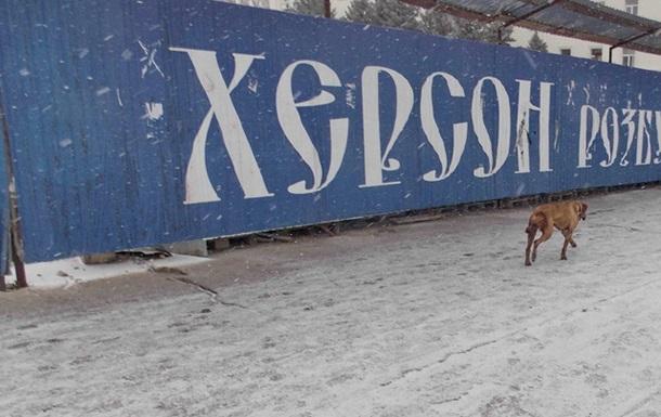 В Херсоне – снег и гололёд: Сальдо и Бережная митингуют, оппозиция извиняется, с