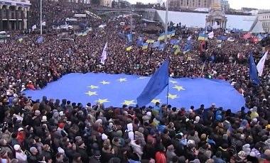 Украина и митинги.