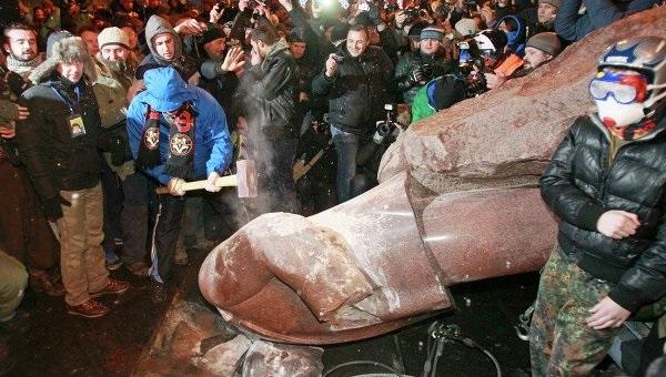 Падший Ленин
