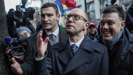 Опозиція кинула Євромайданівців і в Києві, і в областях