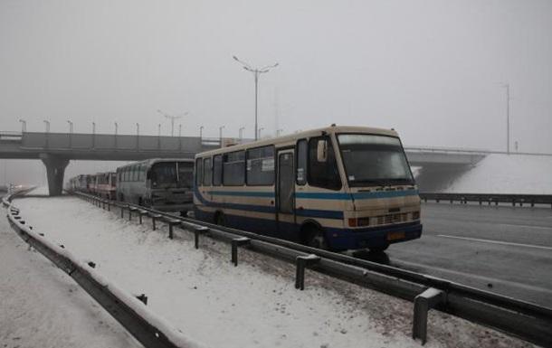 Дніпропетровських міліціонерів везуть на Київ