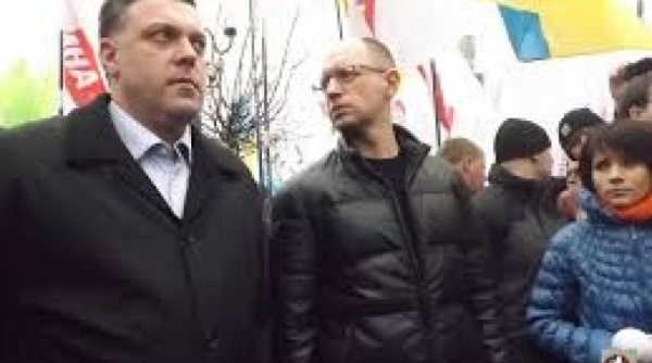 Война за лидерство: Яценюк и Тягнибок против Кличко