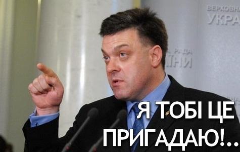 Так, як Кличко, Тягнибока не «опускав» ще ніхто…