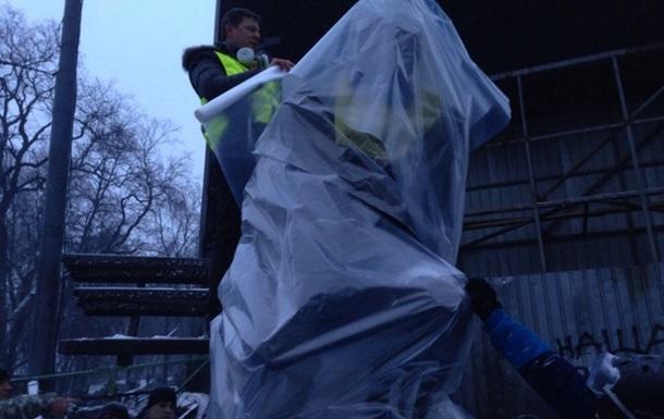 Рятуємо пам ятник Лобановському