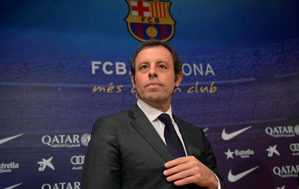 Президент Барселоны ушел в отставку из-за Неймара