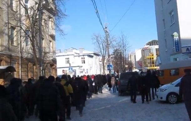 Милиция открыла уголовное производство по факту попытки захвата Ровенской ОГА