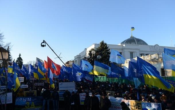 Регионалы намерены собрать более 300 тыс человек для акции в поддержку Януковича в Донецкой области