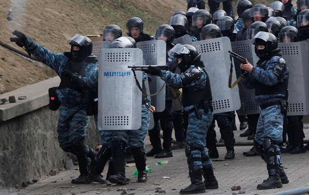 Милиция подтвердила, что во Львове увольняются бойцы Беркута