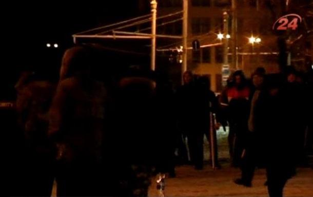 В Харькове произошли столкновения между участниками местного Евромайдана и Оплотом