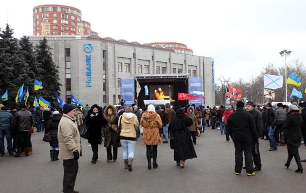 В Одессе участники Евромайдана отступили от здания обладминистрации
