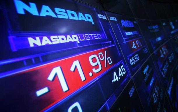 Рынки США закрылись резким  падением