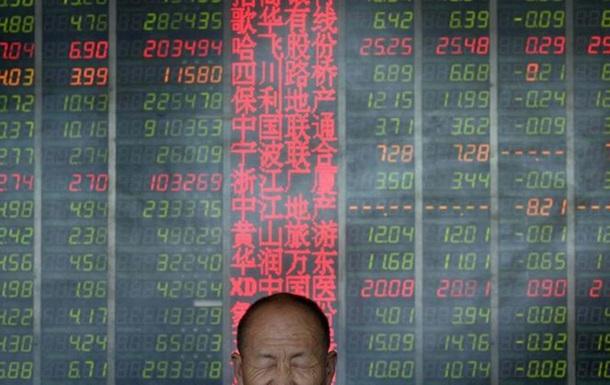 Основной индекс китайского рынка закрылся падением