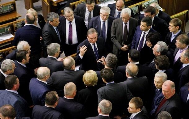 Во вторник утром Партия регионов собирает заседание фракции