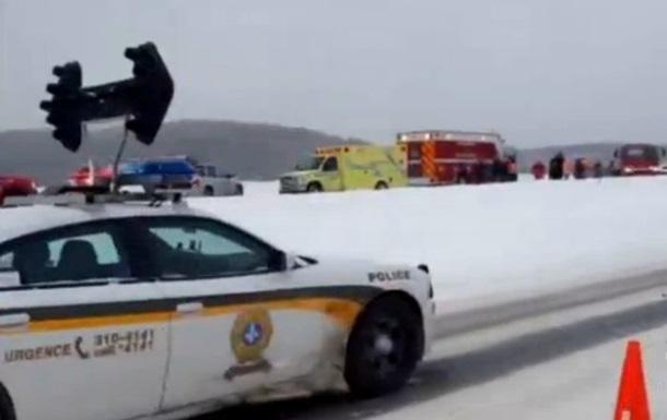 Массовое ДТП в Канаде: столкнулись 40 автомобилей, пострадали более тридцати человек