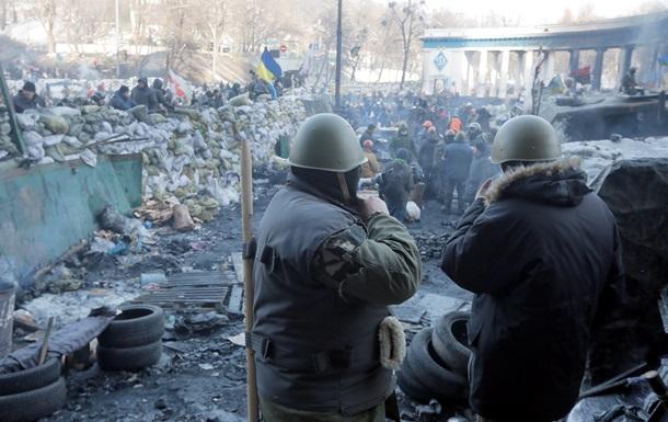 Минувшая ночь на Майдане прошла без происшествий