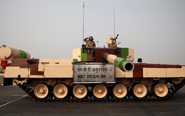 Индия провела публичную демонстрацию модернизированного танка Arjun