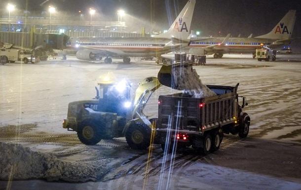 Из-за холодов В США отменили почти 2 тысячи авиарейсов