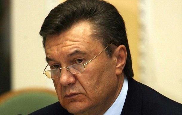 Янукович позвонил в Вашингтон после отставки Азарова
