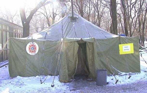 Более четырех тысяч пунктов обогрева развернули спасатели по Украине из-за похолодания