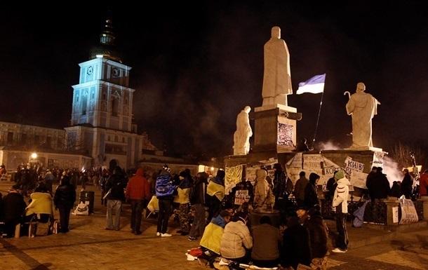 Митингующие покинули помещение Львовской ОГА