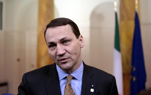 Польша по-прежнему готова содействовать Украине в осуществлении реформ - Сикорский