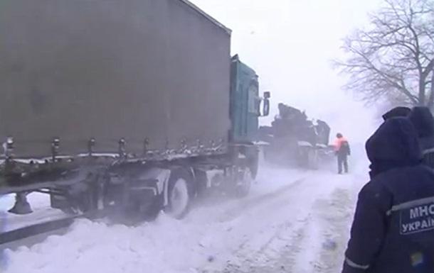 Как замерзает Украина: одиннадцать областей остановились